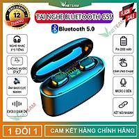 Tai Nghe Bluetooth 5.0 TWS G5STự động kết nốiÂm thanh 6DChống ồn CVC8.0Kèm Hộp Sạc Pin 3500mah -DC4013