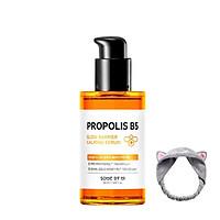 Tinh Chất Dưỡng Ẩm, Phục Hồi Da Some By Mi Propolis B5 Glow Barrier Calming Serum 50ml + Tặng Kèm 1 Băng Đô (Màu Ngẫu Nhiên)