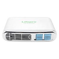 Máy Lọc Không Khí Và Khử Mùi Trên Ô Tô Lifepro L338-OT (Bạc)