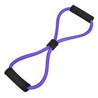Yoga Gym Fitness 8-shape Pulling Rope Exercise Resistance Band Chest Expander Muscle Training Tubing Stretching Pull