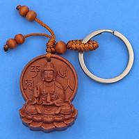 Combo 3 móc khóa Phật Quan Âm 3A