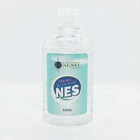 Dung Dịch Rửa Tay Khô Nes 500ml - Bổ sung vitamin E dưỡng ẩm da tay mềm mịn