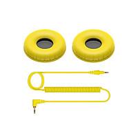 Dây cáp và miếng đệm tai nghe dành cho HDJ CUE1 (HCCP - 08 nhiều màu) - Hàng chính hãng
