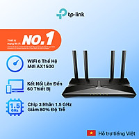 [Wifi thế hệ mới] Bộ phát wifi TP-Link chuẩn wifi 6 1500Mpbs Archer AX10 - Router wifi TP-Link