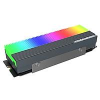Tản nhiệt SSD M2 2280 Coolmoon Led RGB đồng bộ Hub Coolmoon, đồng bộ Mainboard - Hàng nhập khẩu