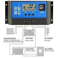 Sạc pin năng lượng mặt trời 12V 24V 60A - điều khiển xạc - sạc năng lượng mặt trời