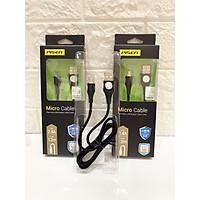 Cáp Micro USB 2.4A braided 1200m(Anti-break)-Hàng Chính Hãng