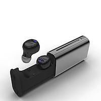 Tai nghe bluetooth T6 cao cấp kiểu dáng sang trọng , hộp sạc chất liệu kim loại