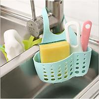 Giỏ nhựa treo tường đựng miếng rửa bát (giao hàng ngẫu nhiên)