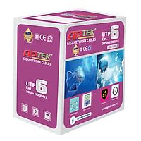 Cáp mạng APTEK Cable CAT 6 UTP 305m (630-1102-1) 1Gbps - Hàng Chính Hãng