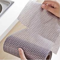Bộ 3 khăn lau vải đa năng màu nâu, ghi - giao màu ngẫu nhiên