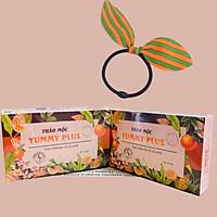 Combo 2 Hộp Tăng Cân Yummy Plus 100% Thảo Dược Tự Nhiên, Tặng Kèm Cột Tóc Tai Thỏ Màu Ngẫu Nhiên