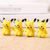 Gôm tẩy bút chì 3D hình Pikachu sáng tạo chất cao su mềm tẩy sạch giúp bé hứng thú hơn với những giờ học – H050