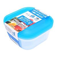 Set 2 hộp nhựa 650ml màu xanh nội địa Nhật Bản