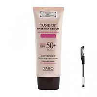 Kem Chống Nắng Dabo Tone Up Base Sun Cream (70ml) - Hàng Chính Hãng [ Tặng bút bi mực nước ]