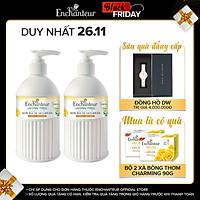 Bộ 2 Nước rửa tay sạch khuẩn từ thiên nhiên Enchanteur Charming Anti-Bacterial 300gr/Chai