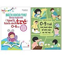 Combo 0-9 Tuổi, Giai Đoạn Vàng Để Ươm Mầm Đa Trí Tuệ+Bách Khoa Toàn Thư Giáo Dục Và Phát Triển Tâm Lý Tính Cách Trẻ 0 -6 Tuổi