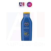 Kem chống nắng, chống nước Nivea Sun Protect & Moisture SPF50+ Very High Sun Lotion 100ml
