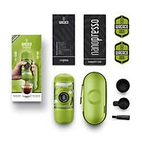 Máy pha cà phê Nespresso cầm tay Wacaco Nanopresso - Phiên bản giới hạn - Hàng Chính Hãng - Kèm hộp chống sốc