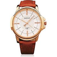 Đồng hồ nam dây da YZ358