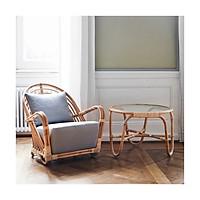 Ghế Mây Thư Giãn Hình Ốc Sên -  Rattan Charlottenborg Chair - CH0004.