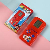 Máy chơi game cầm tay Tetris Đồ chơi trò chơi điện tử LCD Máy chơi game bỏ túi Máy điều khiển trò chơi bỏ túi Thời thơ ấu cổ điển để làm quà tặng