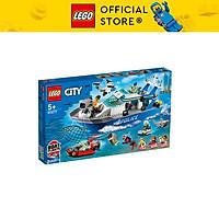 Đồ chơi LEGO City Tàu Tuần Tra Cảnh Sát 60277