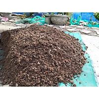 Giá thể trồng cây- Đất ruộng trộn phân bò khô ủ mục, xơ dừa, tro trấu, vỏ trấu- Không phân bón vô cơ - Phù hợp trồng cây cảnh, bon sai, hoa... Trọng lượng 3KG
