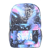 Balo Học Sinh Ban Nhạc BTS Suga - Màu Blue Galaxy