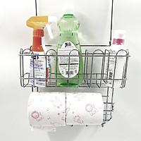 Kệ Inox đa năng 3 tầng đựng đồ nhà bếp  treo hông tủ lạnh, tủ bếp, để bàn nhập khẩu