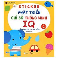 Sticker Phát Triển Chỉ Số Thông Minh IQ - Tập 2