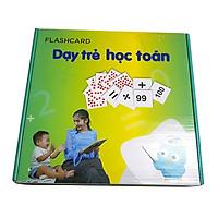 Bộ Thẻ Flashcard Dạy Trẻ Học Toán theo phương pháp Glenn Doman
