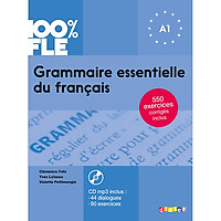 Sách học tiếng Pháp: Grammaire essentielle du francais : Livre + CD A1