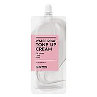 Kem Dưỡng Nâng Tone Trắng Sáng Mini SNP Water Drop Toner Up Cream 25ml