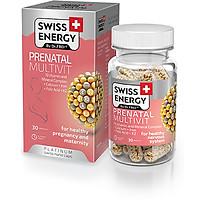Viên Nang Tăng Cường Sức Khỏe Cho Phụ Nữ Mang Thai Và Cho Con Bú - Swiss Energy Prenatal Multivit (lọ 30 Viên)