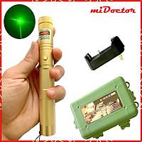 Đèn Pin Laze miDoctor Cao Cấp SD Lazer 303 Full Hộp - Chính Hãng