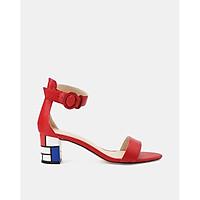 Juno - Giày sandal hoạ tiết Mondrian SD05039