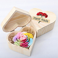 Quà Độc Valentine Bông Hoa Lớn Hộp Trái Tim