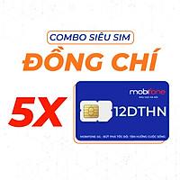 Combo Siêu Sim MobiFone Đồng Chí 12DTHN (12 tháng) - HÀNG CHÍNH HÃNG