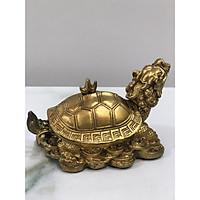 Tượng Rùa đầu rồng mai nắp rời