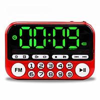 Đồng hồ để bàn kiêm đài radio, thiết bị nghe nhạc (đa chức năng)
