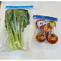 [Sale] Túi zip đựng thực phẩm 1kg combo 17x19cm & 27x28cm giúp bảo quản tươi ngon tiện lợi hơn, giúp rã đông nhanh, lò vi sóng, tái sử dụng