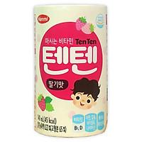 Lốc 6 hộp sữa tăng chiều cao Hanmi Ten Ten vị dâu tây - Nội địa Hàn Quốc