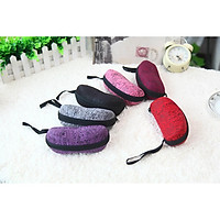 Sunglasses Box Portable Glasses Protector Case Hard Zipper Glasses Box