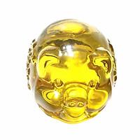 Heo Vàng Phong Thủy Baby - Ý Nghĩa Ấm No - Gia Đình Xung Túc - Đá Thiên Nhiên