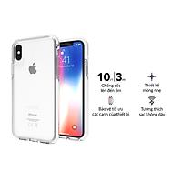 Ốp lưng chống sốc Gear4 D3O Piccadilly chống sốc 3m cho iPhone X/Xs - Hàng Chính Hãng