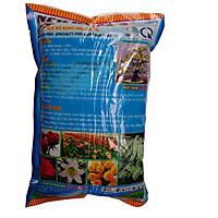 Phân bón NPK có bỗ sung hữu cơ cá giúp cây trồng sinh trưỡng, phát triển tốt gói 1kg.