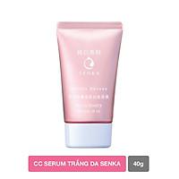 CC Serum trắng da Senka WHITE BEAUTY SERUM IN CC 40G