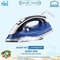 Bàn Ủi Hơi Nước Lock&Lock ENI331BLU (2200W) - Xanh - Hàng Chính Hãng