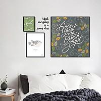 Decal dán tường khung tranh Sunny day ZOOYOO XL8325